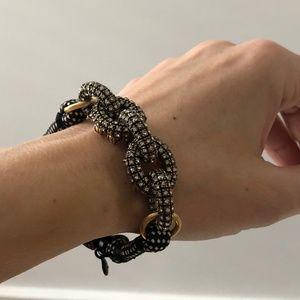 J. CREW/ chunky ornate link rope bracelet
